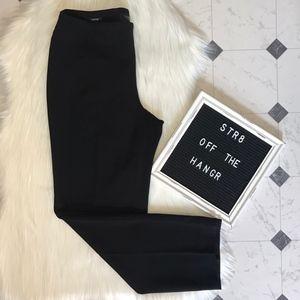 Talbots black heritage casual work pants size 8P